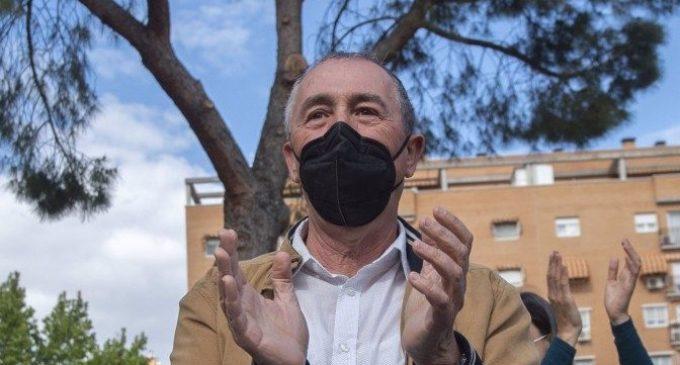 """Baldoví contrasta el """"compromís botánico"""" que quiere para Madrid con los """"gestos vacíos"""" de Ayuso"""