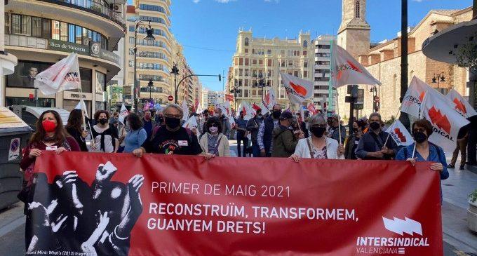 """Intersindical demana al Govern i a la Generalitat que la reconstrucció """"servisca per a millorar les condicions laborals"""""""