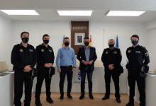 Tres nuevos agentes interinos se incorporan al cuerpo policial de Almussafes