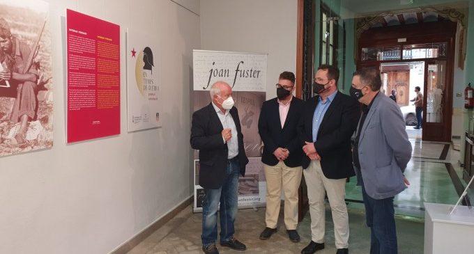 L'Espai Joan Fuster de Sueca acull l'exposició 'En temps de guerra. Premsa i informació'