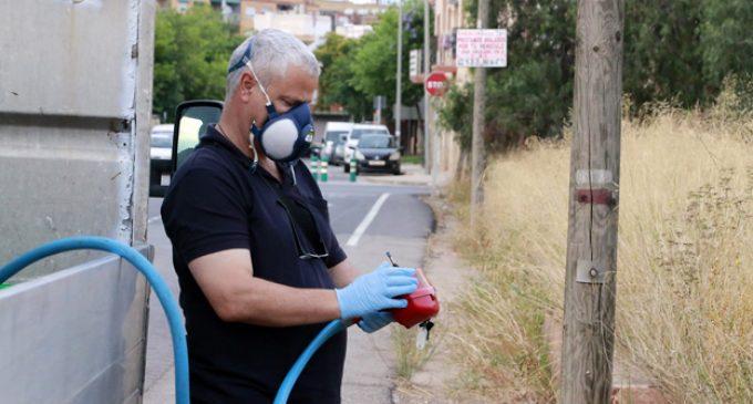 El pla per a combatre el mosquit a Puçol: 40 tractaments anuals en espais públics