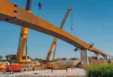 La passarel·la de ciclovianants que unirà València amb l'Horta Sud estarà acabada al novembre