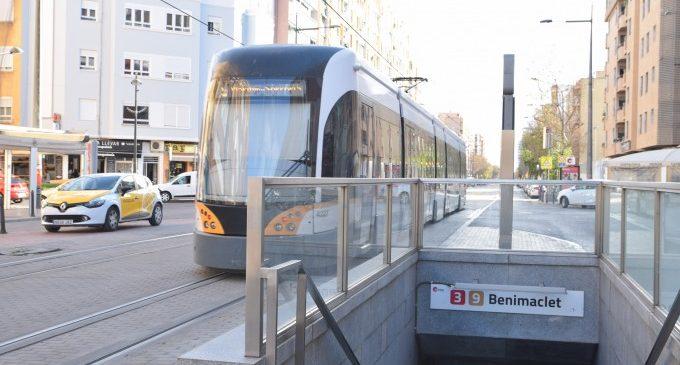 La Generalitat instal·larà una fuita tramviària en Benimaclet per a agilitar la circulació de la Línia 6 de Metrovalencia en cas d'incidència