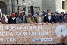 "La Generalitat reafirma en Madrid ""la defensa sin fisuras del Consell al trasvase"": ""Cada gota cuenta"""