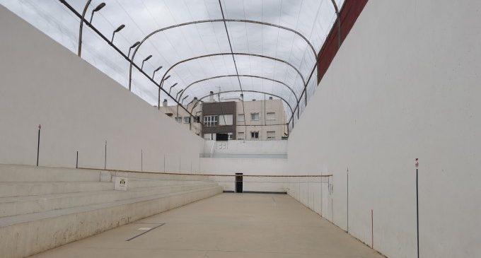 Finalizan las obras de reforma en el Trinquet Municipal Jose María Veguer de Torrent