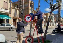 Massamagrell adapta els seus carrers al nou límit de velocitat de 30 km/h