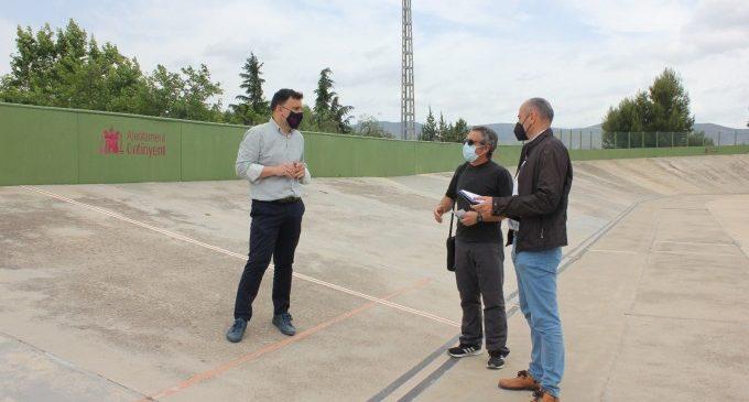 """Ontinyent reformarà integralment el velòdrom municipal amb el Pla """"Tornem Junts"""""""