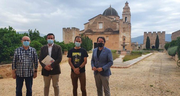 El director general de Turisme visita el Monestir de la Valldigna