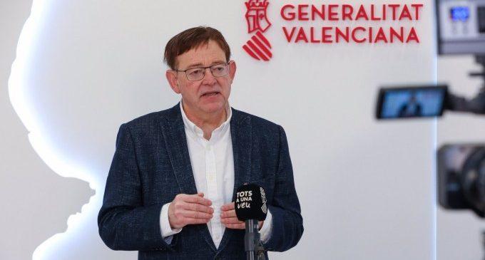 """Puig espera que """"más pronto que tarde"""" la Comunitat Valenciana consiga semáforo verde para que británicos lleguen sin restricciones"""