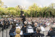 La Banda Simfònica Municipal de València homenatja el certamen internacional 'Ciutat de València'