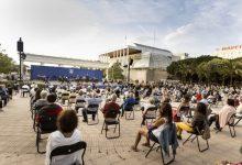 """La Banda Simfònica Municipal de València oferix les """"Danses de gel"""" als jardins del Palau"""