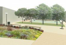Comencen les obres de creació del nou jardí de la plaça de Sor Guillermina