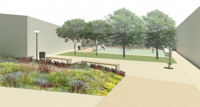Comienzan las obras de creación del nuevo jardín de la plaza de Sor Guillermina