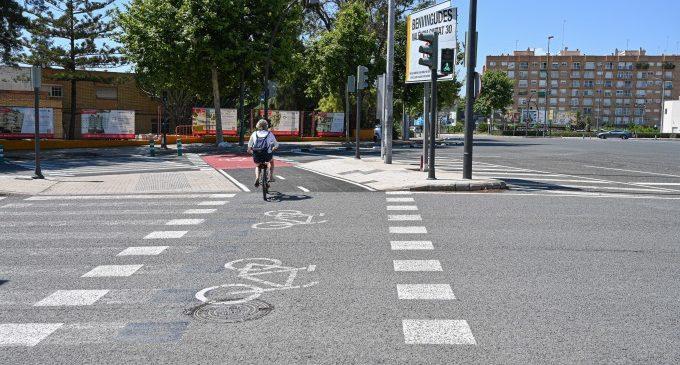 El carril bici que connecta Alboraia amb la Ronda Nord ja està obert a la circulació