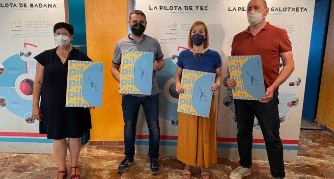 La Diputació presenta el proyecto 'Parlem de Pilota' en el Genovés