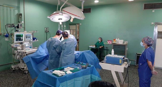 Sanitat redueix en 8 dies la demora per a una intervenció quirúrgica en la Comunitat Valenciana durant l'últim mes