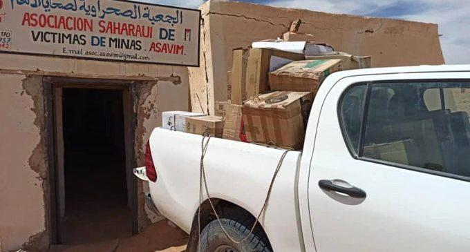 Els equips informàtics cedits per Paiporta arriben als campaments saharauís