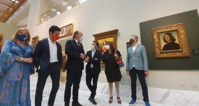 """Marzà: """"El Museu de Belles Arts de València ja exhibeix en la sala principal el retrat pintat per Botticelli"""""""