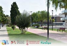 El projecte de carril bici d'Alfafar al voltant de l'Albufera opta als pressupostos participatius de la Generalitat