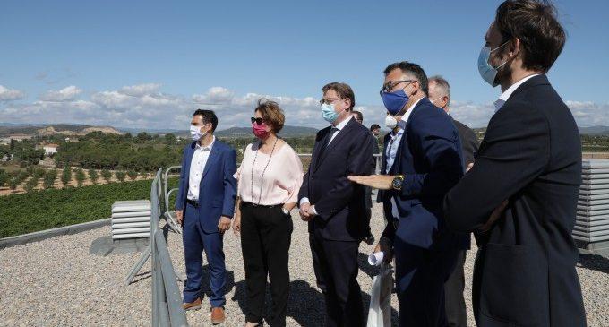 Ximo Puig destaca Les Carrases de Llíria com a referència de sòl industrial necessari per a atraure inversions