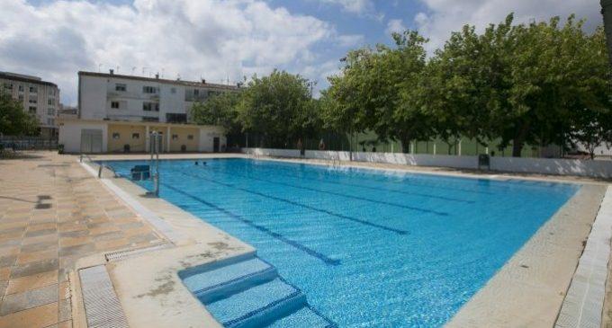 Les piscines de Roís de Corella de Gandia i de Beniopa reobrin les portes al públic el pròxim dilluns