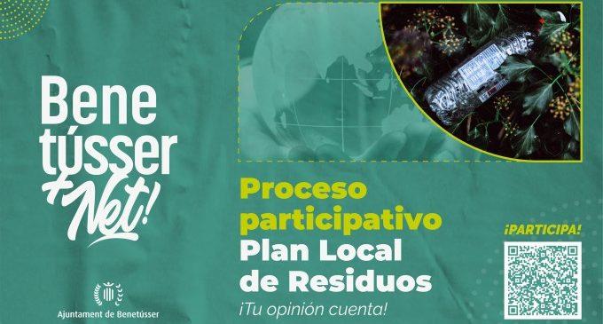 Benetússer posa el focus en la gestió de residus a través d'una enquesta ciutadana