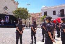 La Comissaria de Policia Nacional de Paterna rep el bastó de comandament