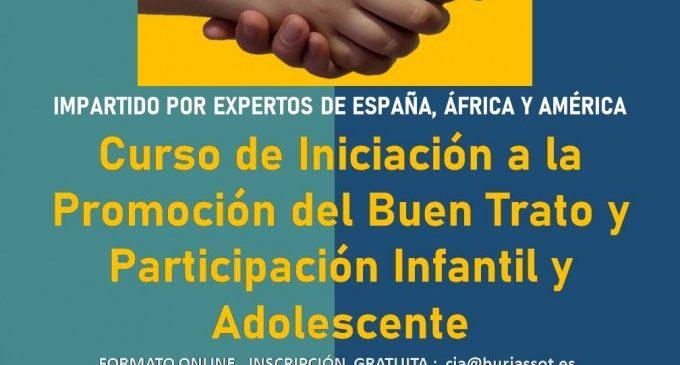Burjassot ofereix un curs gratuït sobre bon tracte a la Infància a professionals que treballen amb xiquets i adolescents