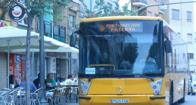 Más de 800 personas se suben al Bus de Paterna a la playa en su primera semana de servicio