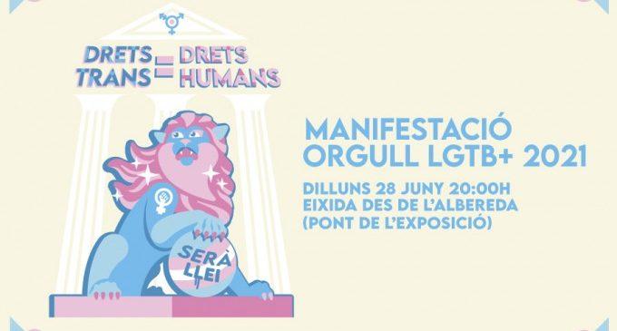 Lambda moviliza al activismo alrededor de las personas trans por el Día del Orgull LGTB+