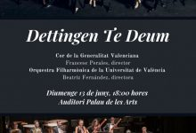 El Cor de la Generalitat participa en el concert commemoratiu del 25é aniversari de l'Orquestra Filharmònica de la Universitat de València