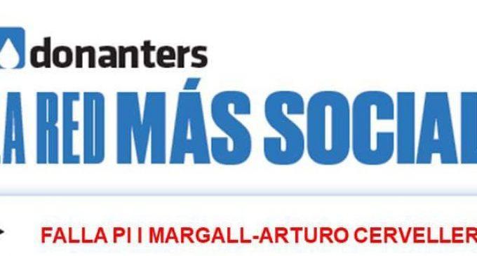 El Casal de la Falla Pi i Margall de Burjassot abre sus puertas a la solidaridad