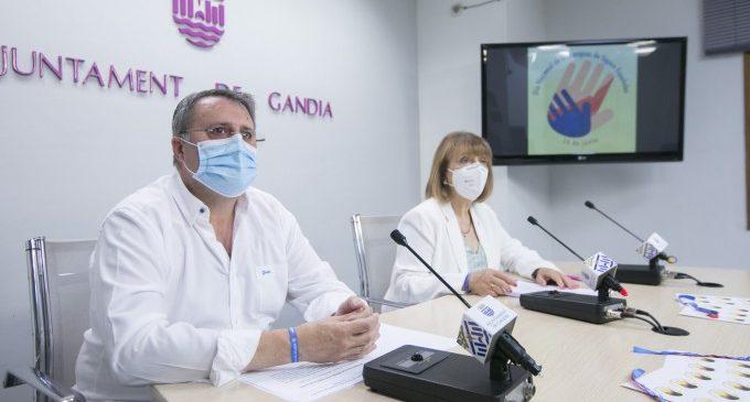 Gandia reivindica la llengua de signes i la necessitat de continuar treballant per a millorar la vida de les persones sordes