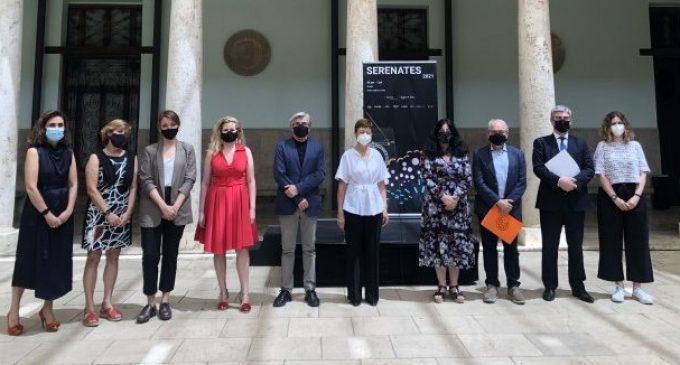 L'Institut Valencià de Cultura i la Universitat de València presenten la 34 edició del festival Serenates