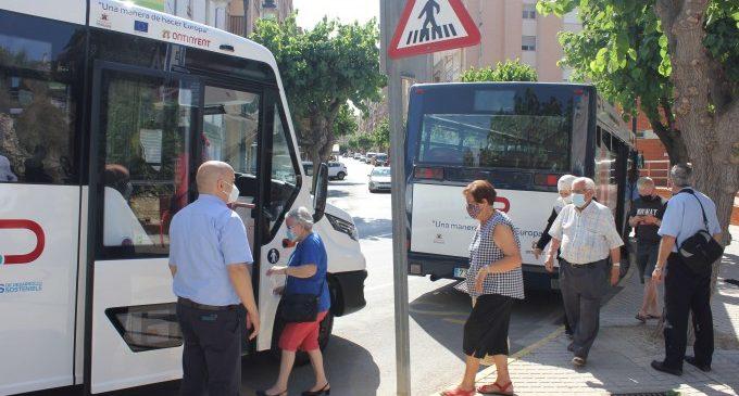 El bus urbà gratuït d'Ontinyent va triplicar l'ús en 2020 tot i la pandèmia