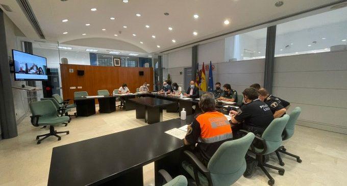 Massamagrell realiza una nueva Junta Local de Seguridad para coordinar el trabajo de todas las áreas implicadas de cara a las próximas festividades