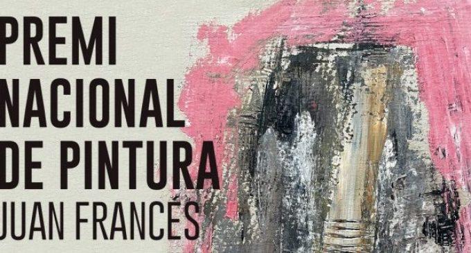 Xàtiva convoca el premi nacional de Pintura Juan Francés Fira d'Agost 2021
