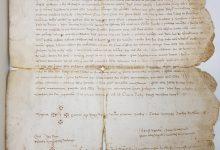 Cultura adquireix per a la Biblioteca d'Orihuela el pergamí de Pere IV el Cerimoniós de 1364