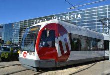 El tramvia augmenta les freqüències el dissabte a Fira València amb motiu dels exàmens de la JQCV
