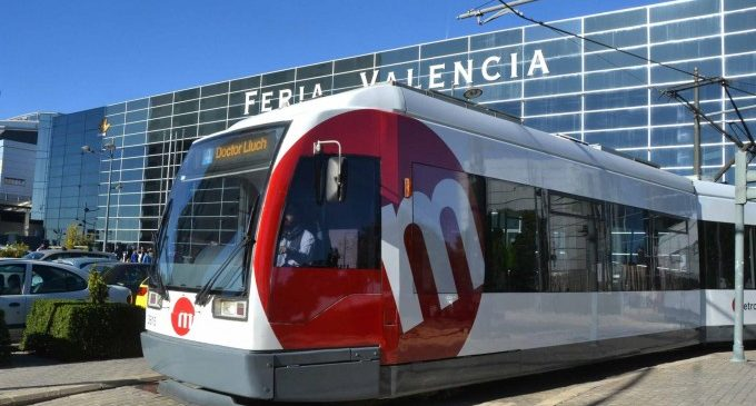 El tranvía aumenta las frecuencias el sábado a Feria Valencia con motivo de los exámenes de la JQCV