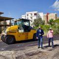 Cullera sigue con el Plan Asfalta y adecua 13.000 m² de vías públicas