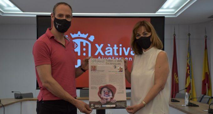 La improvisació amb el mateix cos protagonitzarà el XXV aniversari dels tallers d'arts escèniques de Teatre de la Lluna de Xàtiva