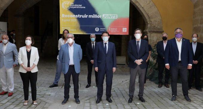 Ximo Puig destaca la capacitat de resistència demostrada per les cooperatives valencianes per a fer front a la crisi generada per la COVID-19