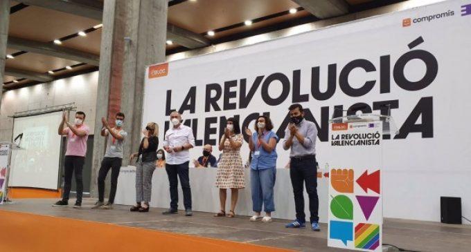 Més-Compromís ratifica su ponencia política con un 75,54% de votos a favor