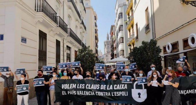 """La Crida pel Finançament crida a la """"mobilització activa"""" contra l'""""espoli"""" que pateix la Comunitat Valenciana"""