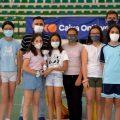 300 escolares participan en el Polideportivo de Ontinyent en la clausura de los Juegos Deportivos de la Comunidad Valenciana