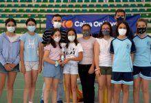 300 escolars participen al Poliesportiu d'Ontinyent en la cloenda dels Jocs Esportius de la Comunitat Valenciana