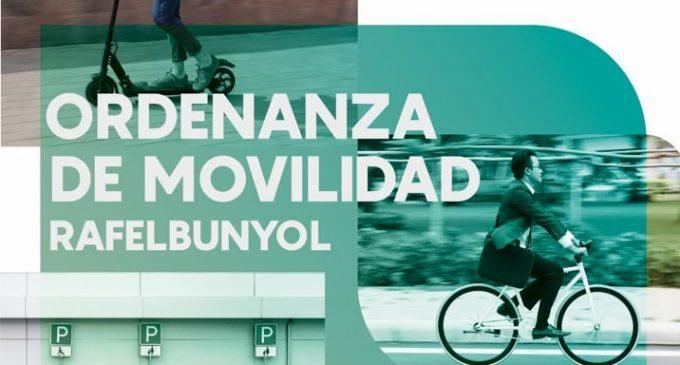 Rafelbunyol aprova l'Ordenança de Mobilitat Sostenible