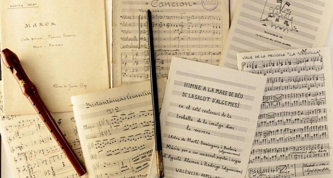 La Biblioteca Valenciana publica una guia de recursos musicals de compositors valencians