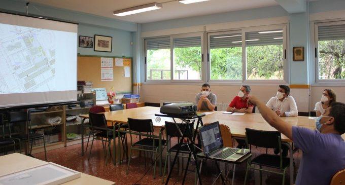 La reforma del CEIP Martínez Valls de Ontinyent incluirá la construcción de un gimnasio y la reforma integral del edificio de primaria